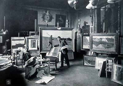 15 апреля в 1874 году в Париже открылась первая выставка произведений художников-импрессионистов