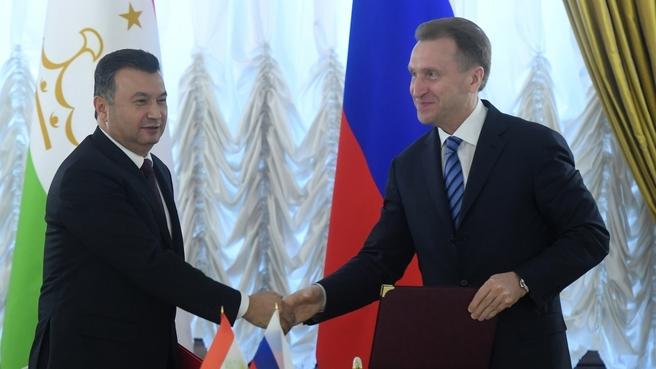 Состоялось 15-ое заседание Межправительственной комиссии по экономическому сотрудничеству между Российской Федерацией и Республикой Таджикистан