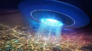 В небе над Смоленском появился НЛО