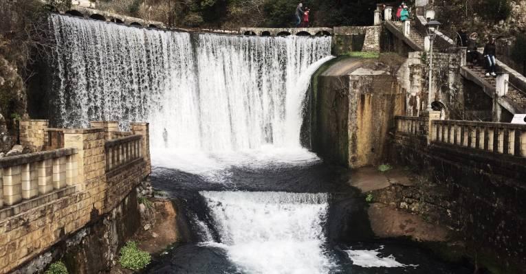 Новоафонский водопад, Абхазия